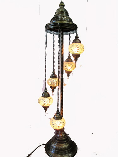 Turkish Ottoman Style Mosaic Lamps Hanging Lights And Tea